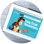newsletter page circle