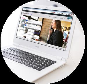 website design circle